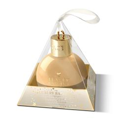 THE LUXURY BATHING COMPANY Coffret boule de Noël gel douche bergamote