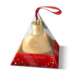 THE LUXURY BATHING COMPANY Coffret boule de Noël gel douche figue