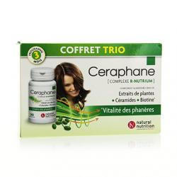 NATURAL NUTRITION Ceraphane lot de 3 x 30 capsules