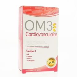 OM3 Cardiovasculaire capsules x 15 gélules x 15