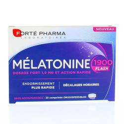 FORTEPHARMA Mélatonine 1900 Flash 30 comprimés orodispersible