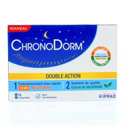 IPRAD ChronoDorm Double Action 15 comprimés
