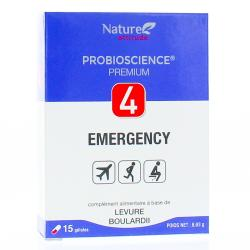 NATURE ATTITUDE Probioscience premium 4 Emergency 15 gélules