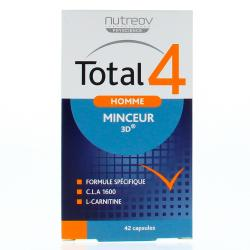 NUTREOV Total 4 homme minceur 3D 42 capsules