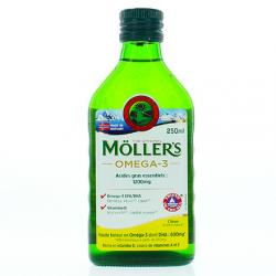 MÖLLER'S Omega-3 Citron 250ml