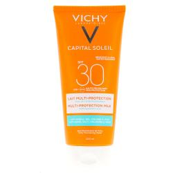 VICHY Capital Soleil Lait multi-protection SPF30 tube 200 ml