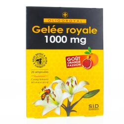 SID NUTRITION oligoroyal gelée royale 1000 mg 20 ampoules