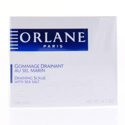 ORLANE Gommage drainant au sel marin pot 500 ml