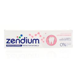 ZENDIUM Dentifrice Dents sensibles tube 75 ml