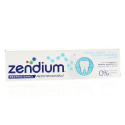ZENDIUM Dentifrice Bouches sensibles tube 75 ml
