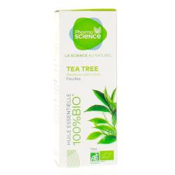PHARMASCIENCE Huile essentielle de Tea Tree bio flacon 10 ml
