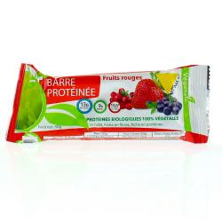 VIT'ALL+ Barre protéinée fruits rouges  50g