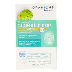GRANIONS Global Digest Digestion facile 45 gélules