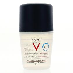 VICHY Homme déodorant anti-transpirant anti-traces roll-on 50ml
