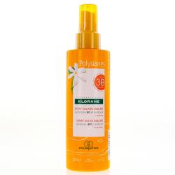 KLORANE Polysianes spray lacté SPF30 spray 200ml