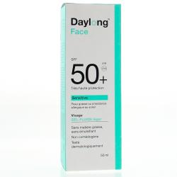 DAYLONG Gel fluide léger SPF50+ sensitive tube 50ml