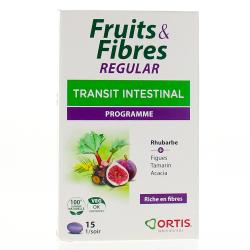 FRUITS & FIBRES regulat transit intestinal programme