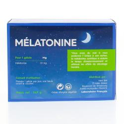 PRESCRIPTION NATURE Mélatonine 45 gélules