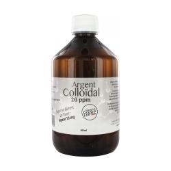 ARGENT COLLOIDAL 20PPM flacon 500ml