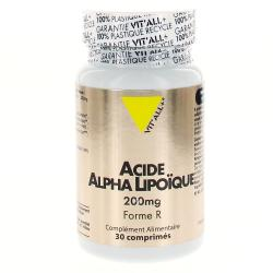 VIT'ALL+ Acide Alpha Lipoïque 200mg 30 comprimés